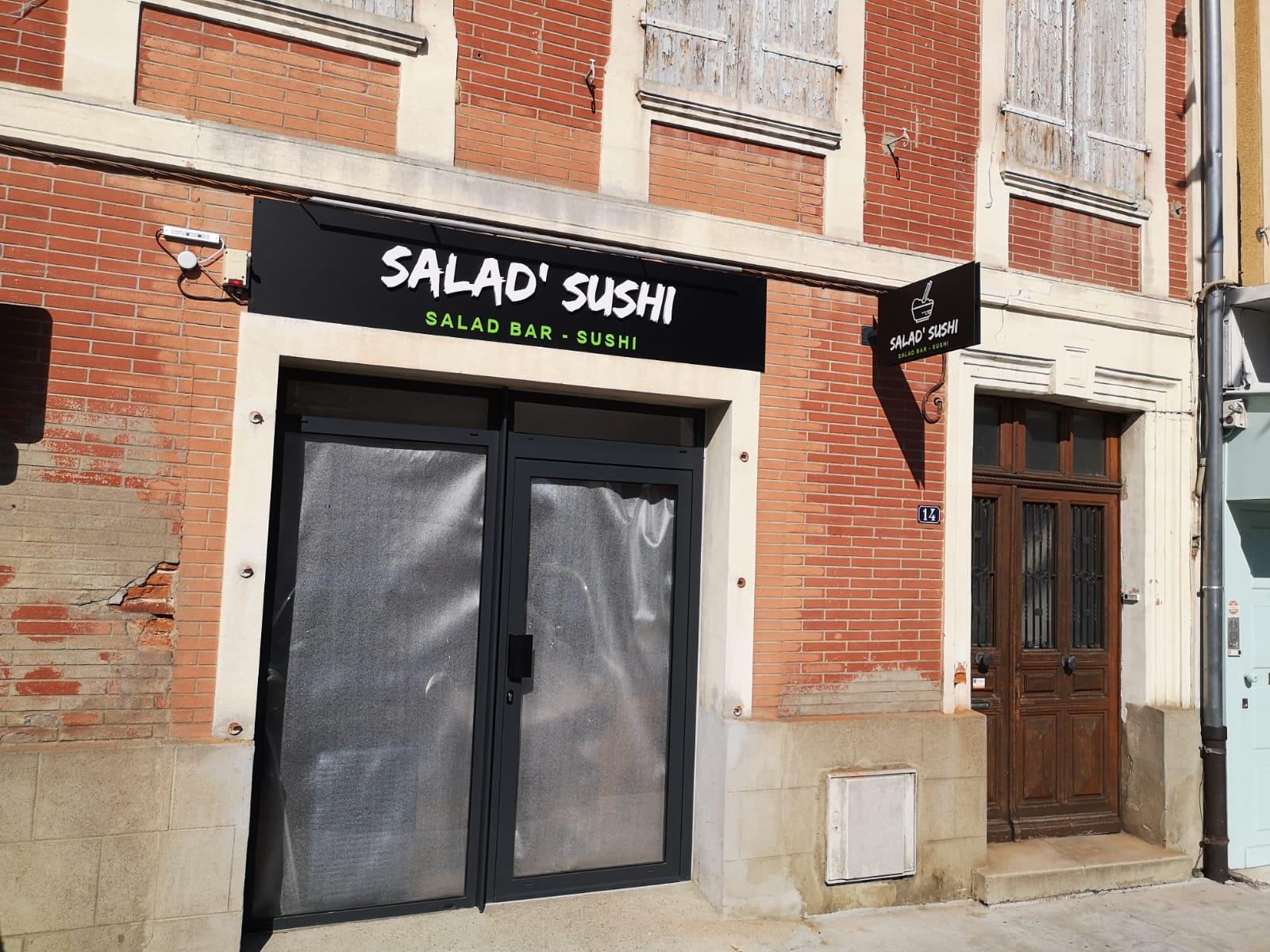 enseigne drapeau restaurant Toulouse saint Lys