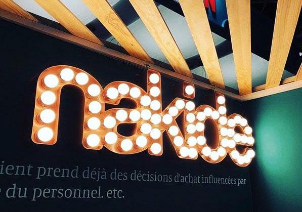Enseigne ampoules vintage Toulouse