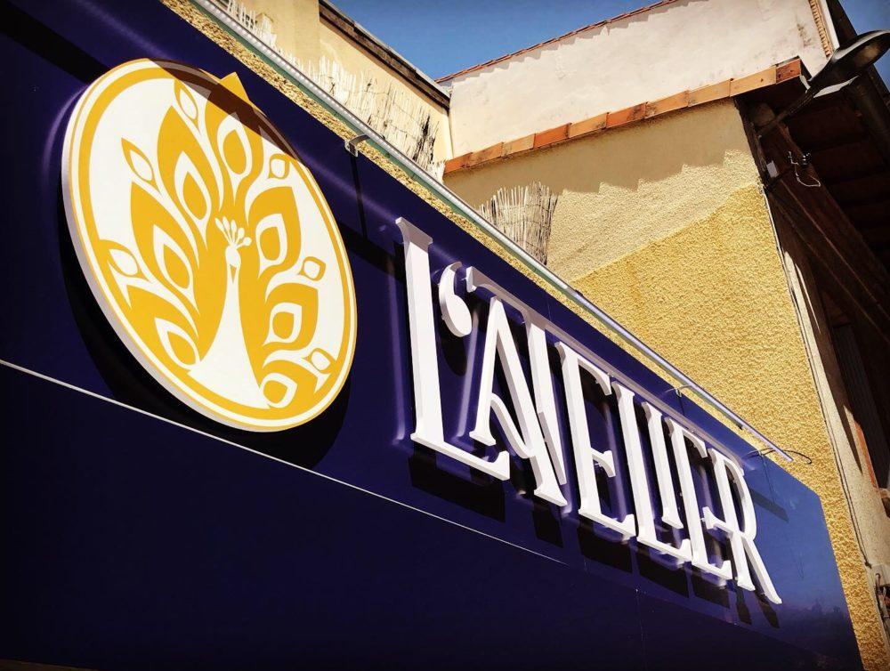 Enseigne Toulouse restaurant signalétique