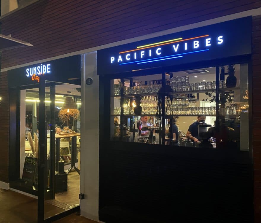 Enseigne led Toulouse restaurant