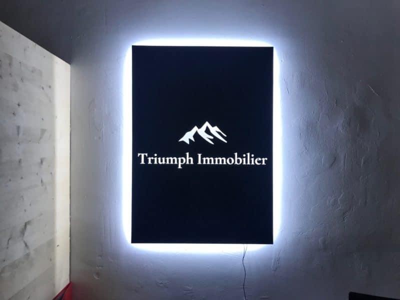 Signalétique Toulouse enseigne intérieur
