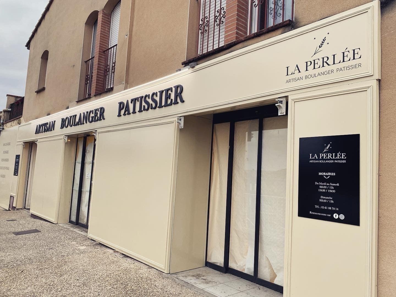Habillage façade et enseigne Toulouse