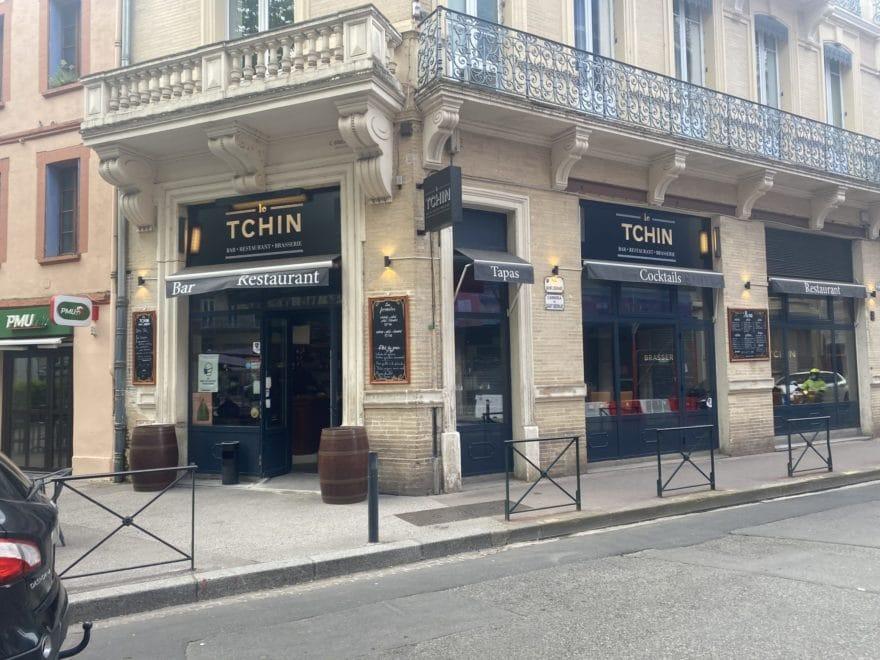 Enseigne led Toulouse