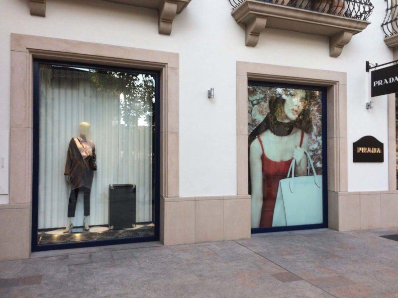 Flocage vitrine et signalétique commerce Toulouse
