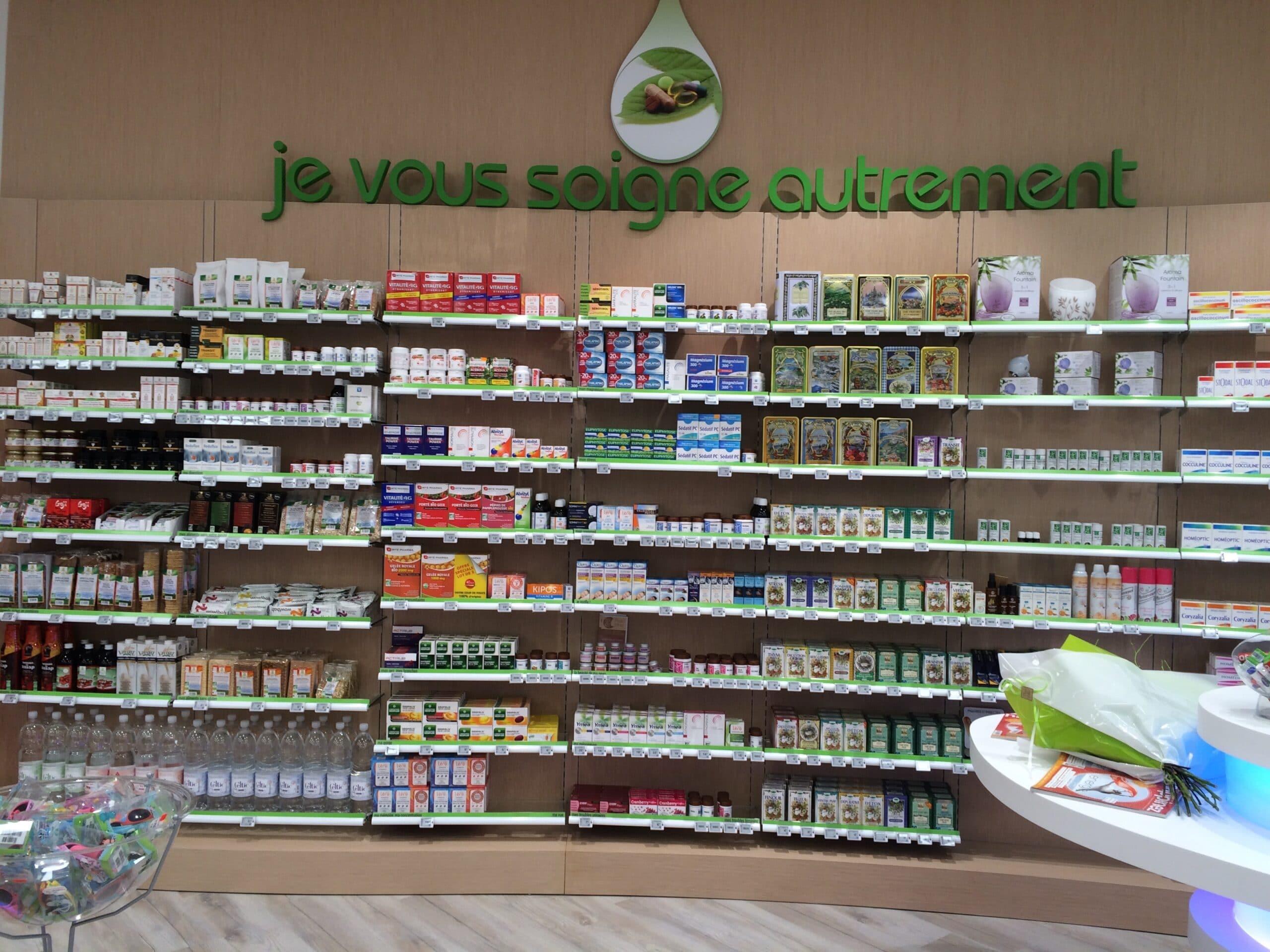 Signalétique intérieur pharmacie