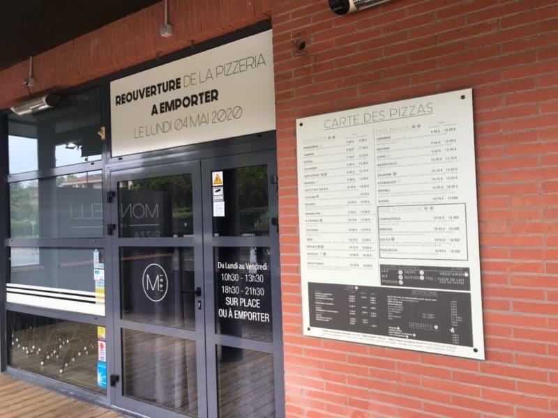 Marquage vitrine et signalétique restaurant
