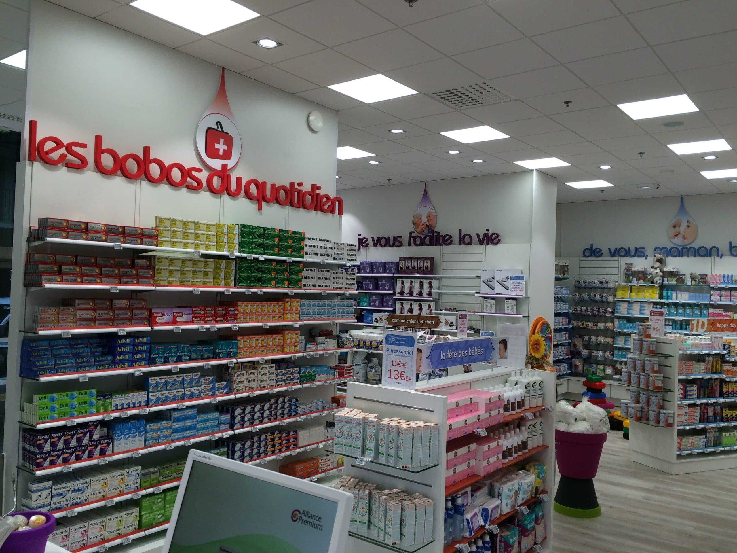 lettres pvc intérieur pharmacie signalétique enseigniste Toulouse enseigne led pharmacie
