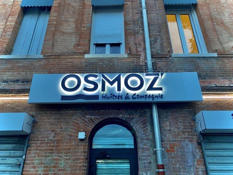 Enseigne lumineuse Toulouse restaurant