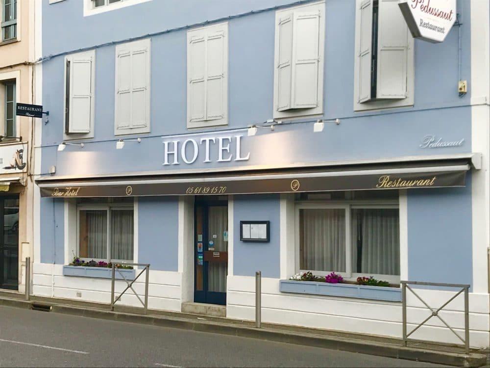Enseigne Toulouse devanture Hotel et restaurant