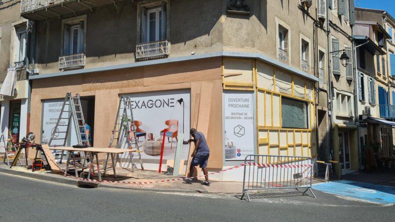 Habillage façade Toulouse enseigne
