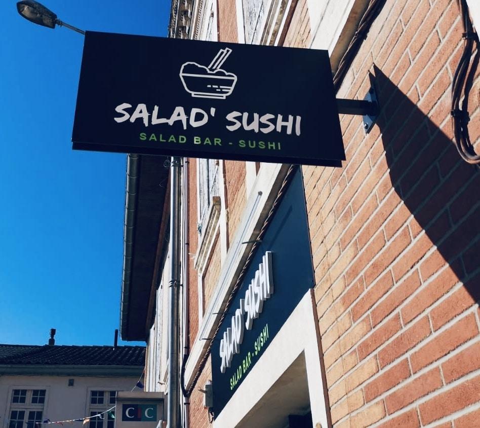 Enseigne Toulouse devanture Restaurant