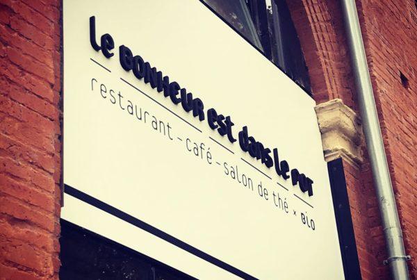 Enseigne Toulouse restaurant LBDP