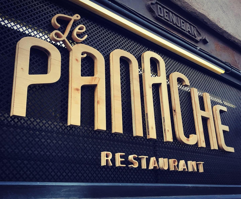 Enseigne lumineuse restaurant Toulouse
