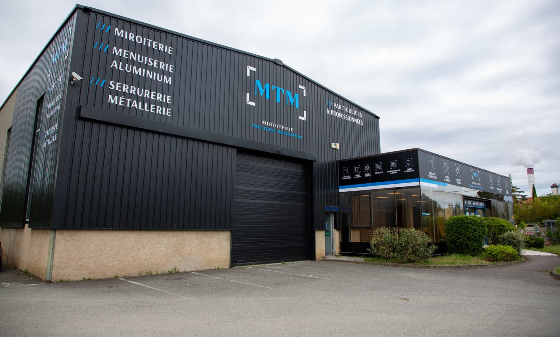 Fabricant enseigne led Toulouse